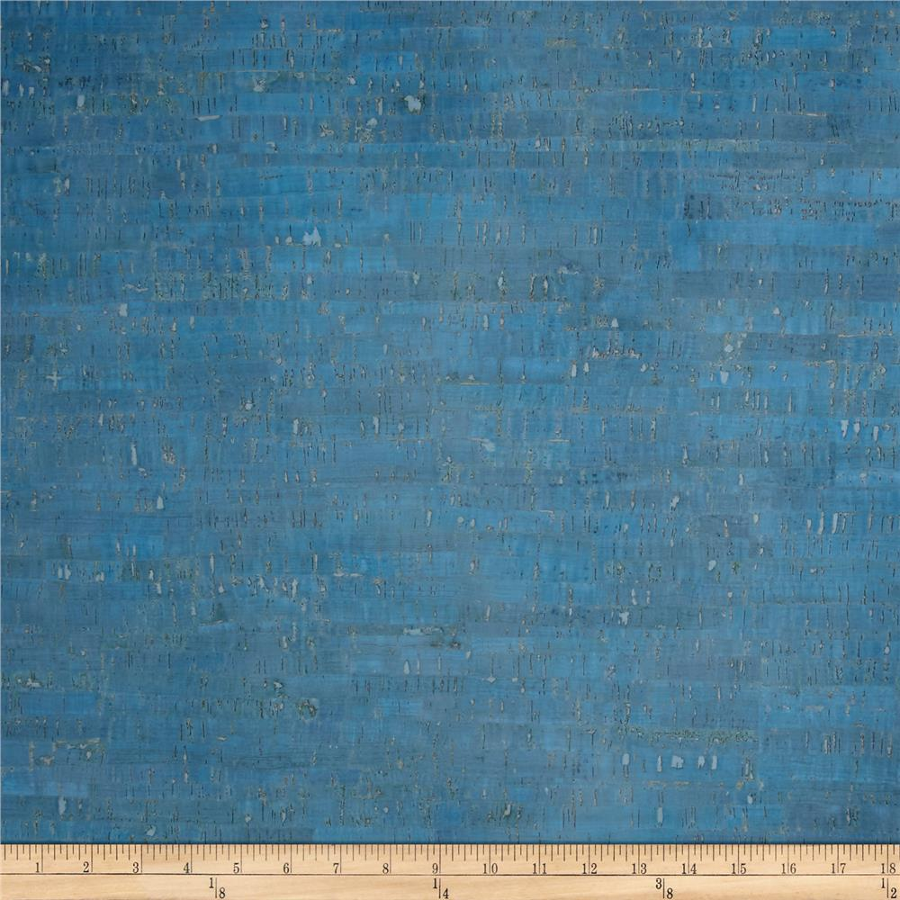 Eversewn cork fabric 1 yard light blue discount designer for Purchase fabric by the yard