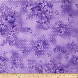 Zoey Christine Morning Dew Royal Purple