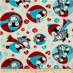 Fleece Penguin Grey