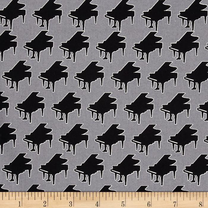 Perfect Pitch Pianos Grey