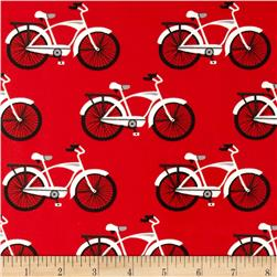 Gnome Living Slicker Laminate Bicycles Ruby