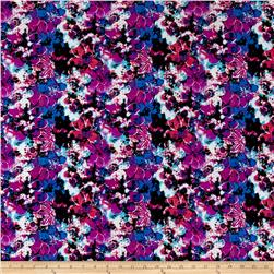 Floral ITY Knit Purple/Fuchsia