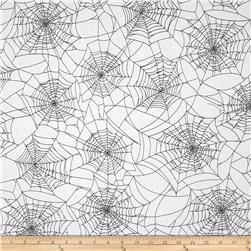 Fright Night Spider Web White