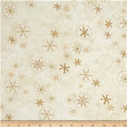 Snowbound Swirly Snowflake Cream