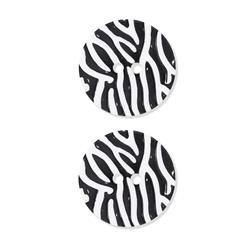 Dill Novelty Button 1 1/8'' Black Stripe on