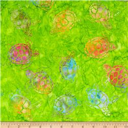 Michael Miller Batik Sea Turtles Calypso
