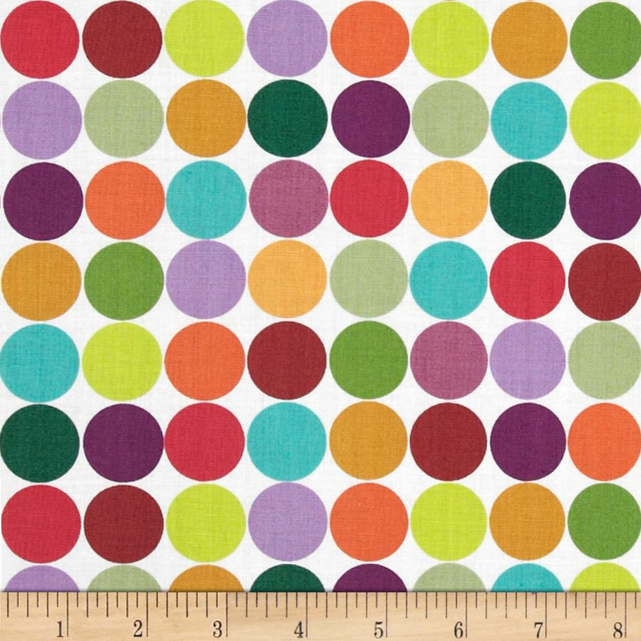 Seasons Best Summer Dots-n-Grid BrightsBlack