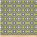 Kanvas Citron Twist Geo Trellis Citron