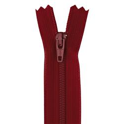 "YKK Children's Zipper Poly Beulon 7"" Cherry"