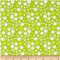 Itty Bitty Ditsy Floral Green