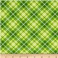 Hazel Plaid Green