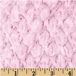 Minky Soft Tile Cuddle Baby Pink Fabric
