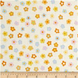 Kitschy Kawaii Mini Floral Cream/Multi Fabric
