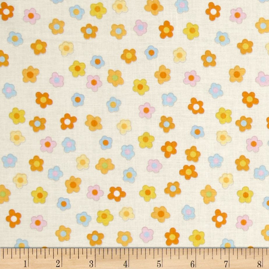 Kitschy Kawaii Mini Floral Cream/Multi