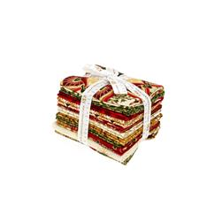 Robert Kaufman Winter's Grandeur Holiday Fat Quarter Multi