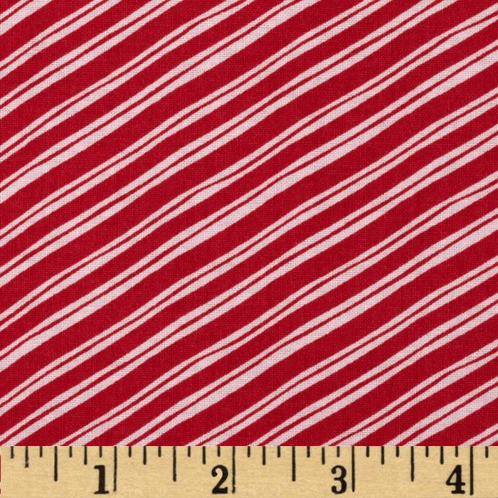 Sugar Rush Candy Cane Stripe Red