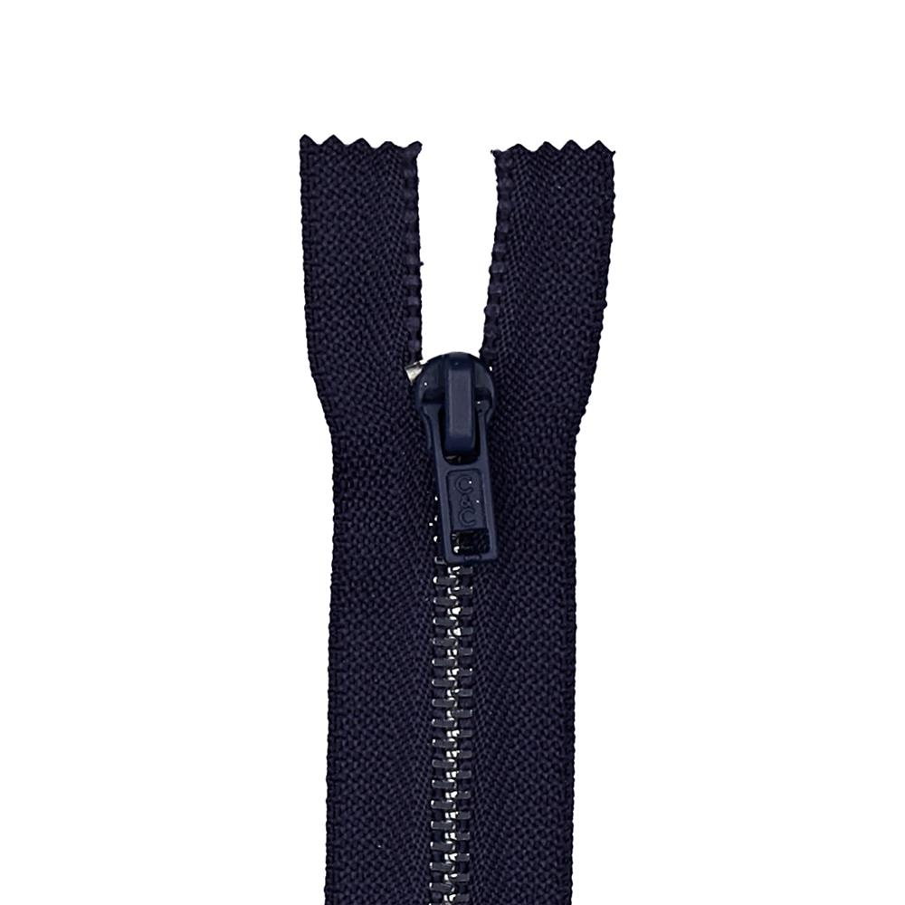 "Metal All Purpose Zipper 18"" Navy"