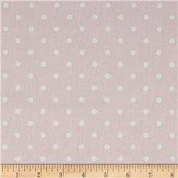 Premier Prints Mini Dot Twill Bella/White