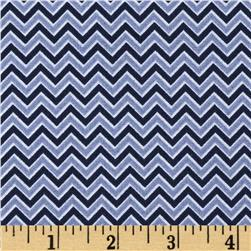 Coraline Chevron Blue