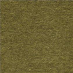 Tri-Blend Distressed Jersey Knit Fern Green