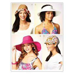 Kwik Sew Misses Hats (3885) Pattern
