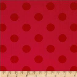 Riley Blake 108'' Wide Medium Dots Tone on