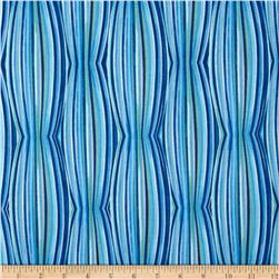 Luminaria Stripe Blue