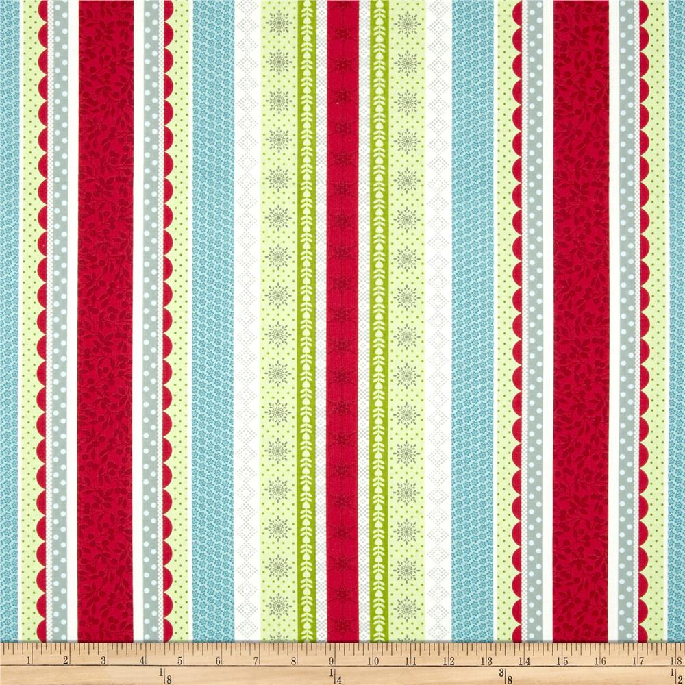 O' Christmas Tree Stripe Red