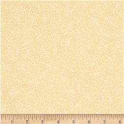 Grace Feather Scroll Beige