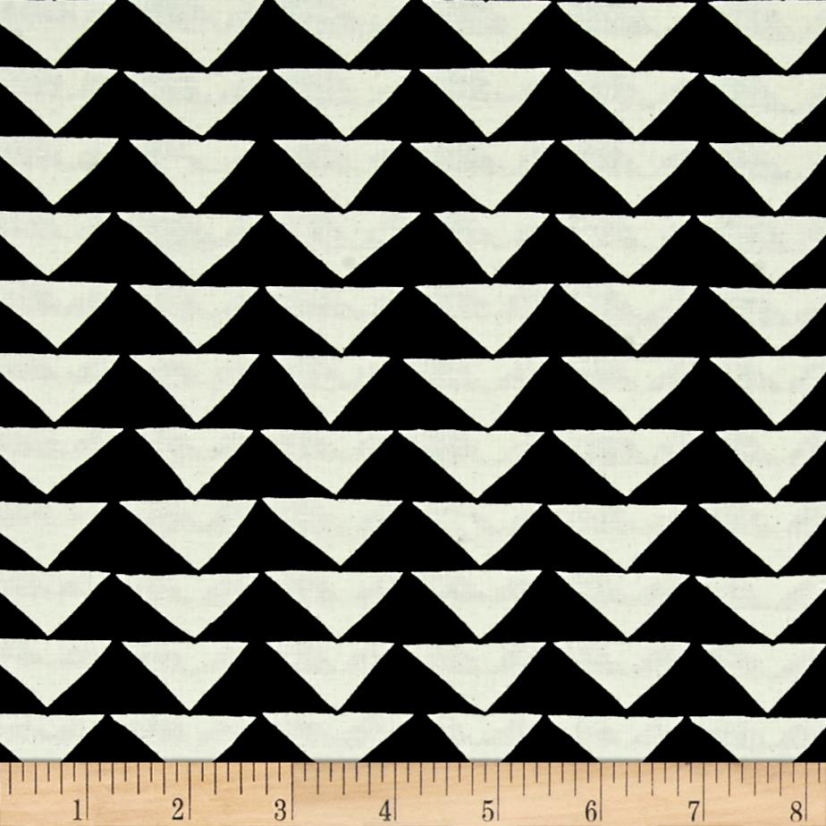 Moda Thicket Triangles Black/Natural