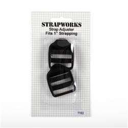Strapworks Strap Adjuster Black 1''