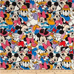 Disney Knit Mickey and Friends Multi