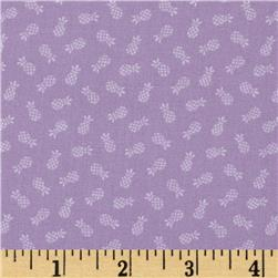 Americana Collection Pineapple Lilac Fabric
