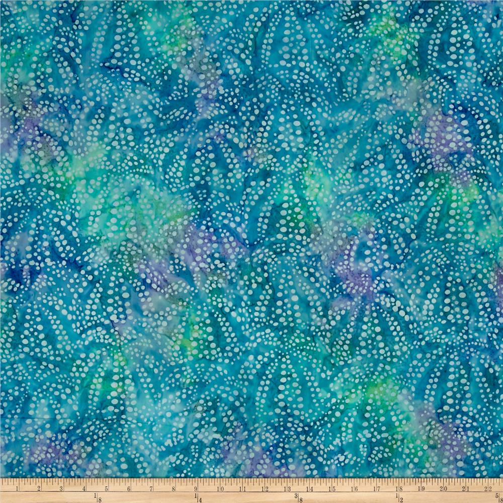 Kaufman artisan batiks tiger fish bubble spray ocean for Purchase fabric by the yard