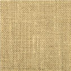 Textile Creations Burlap Solid Bleached Natural Fabric