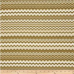 A.E. Nathan Chevron Brown/White/Mocha