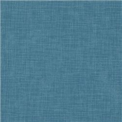 Quilter's Linen Print Dusty Blue Fabric