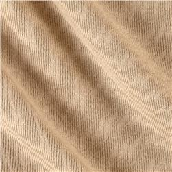 Baby Rib Knit Solid Sand