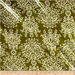 Riley Blake Botanique Laminate Damask Green