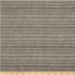 "Versailles 118"" Crete Stripe Sheer Grey"