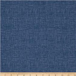 110 In. Wide Quilt Back Betula Flannel Blue
