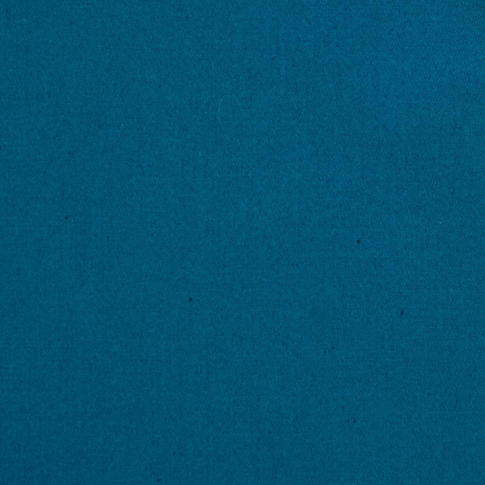 Kaufman Stretch Vera Sateen Wide Azure