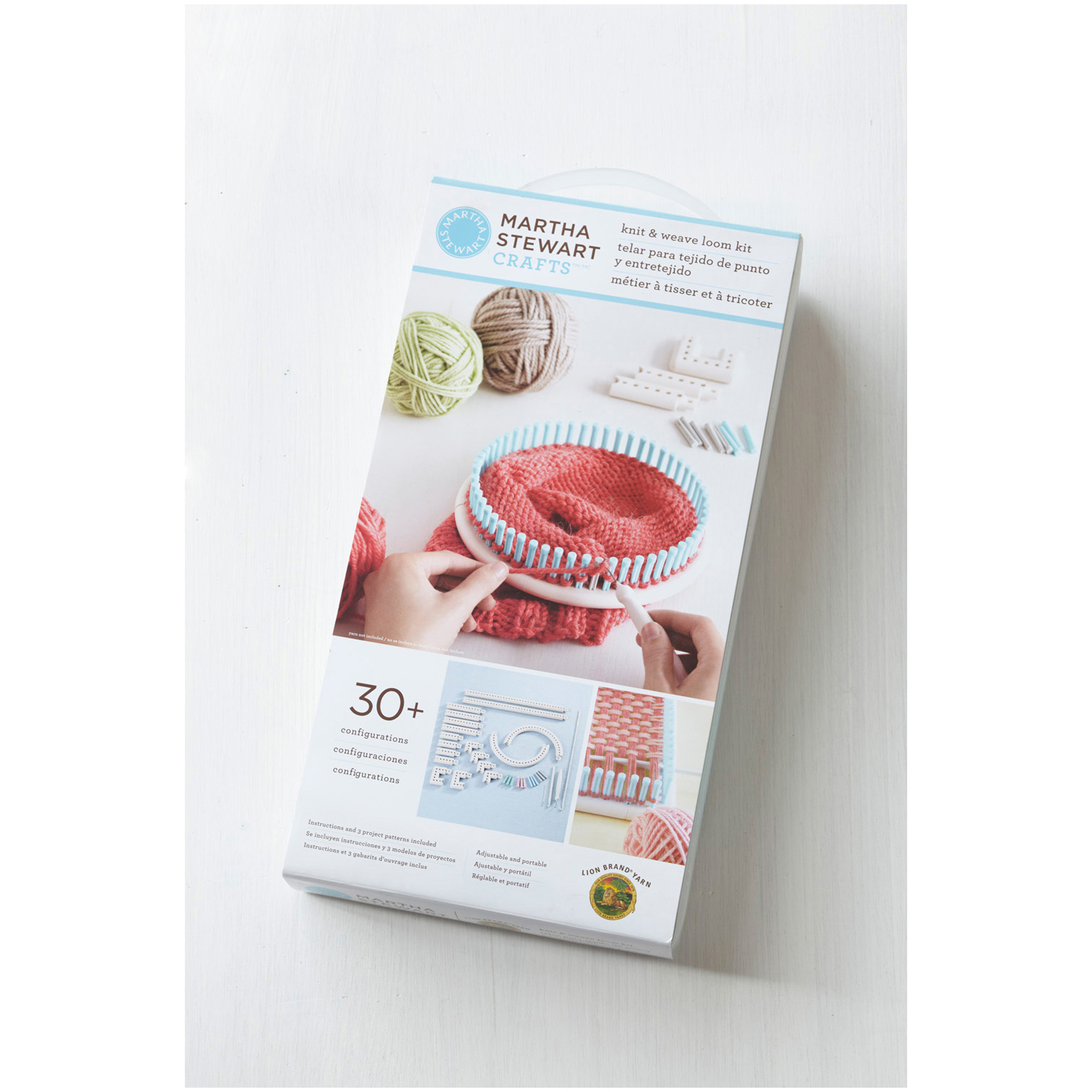 Image of Martha Stewart Crafts Knit & Weave Loom Kit