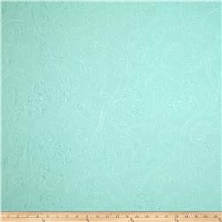 Embossed Interlock Knit Flourish Light Mint