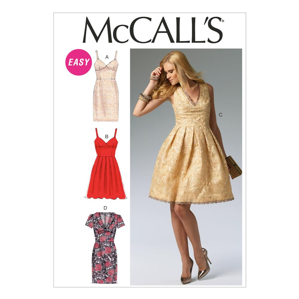 McCall's Misses' Dresses Pattern M6833 Size AX5