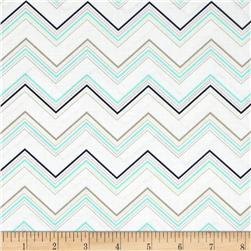 Riley Blake Ashbury Heights Chevron Blue