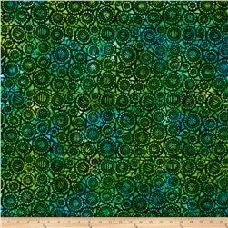Wilmington Batiks Geo-Circles Green