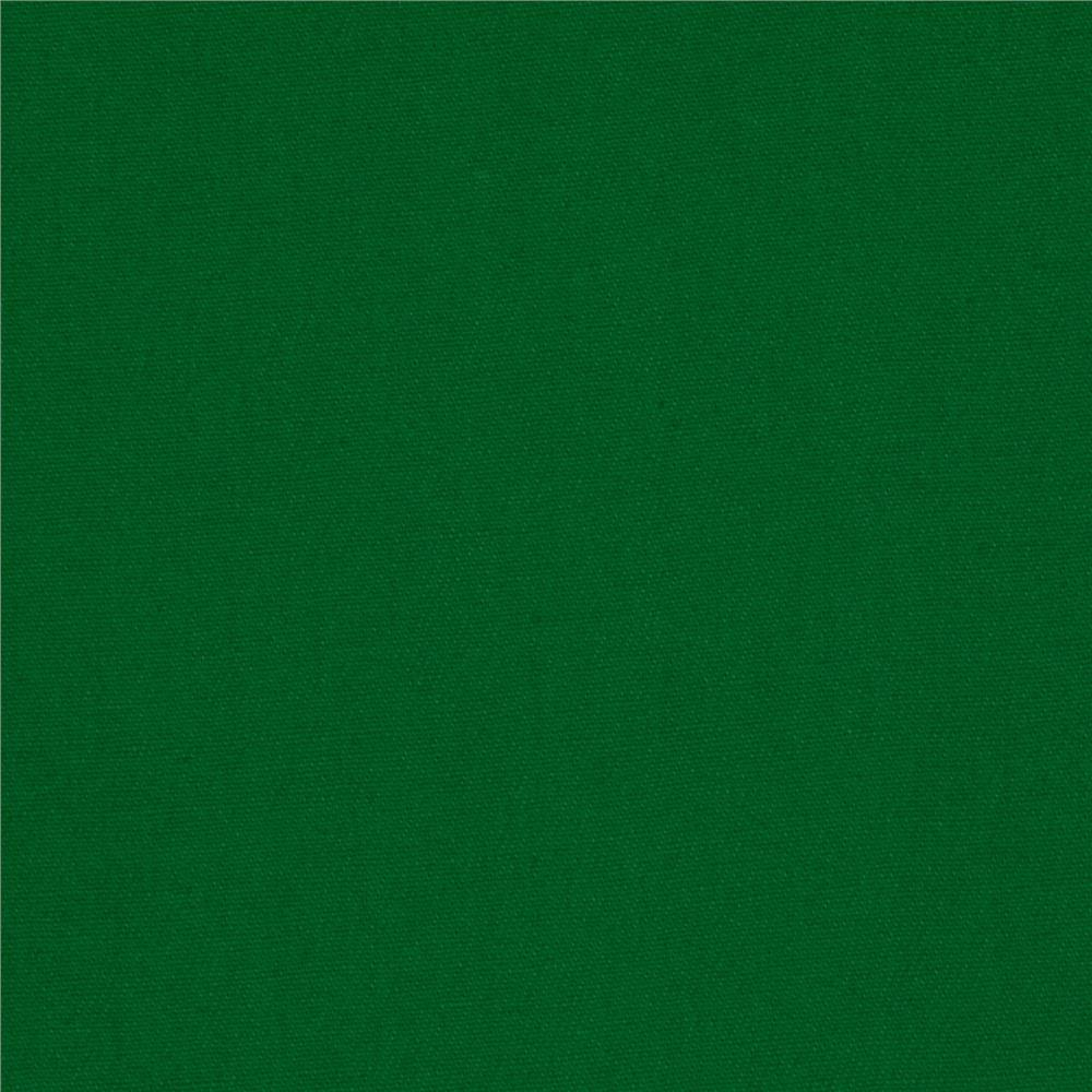 Cotton twill kelly green discount designer fabric for Cheap green wallpaper