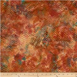 Bali Batiks Handpaints Chevron Citrus