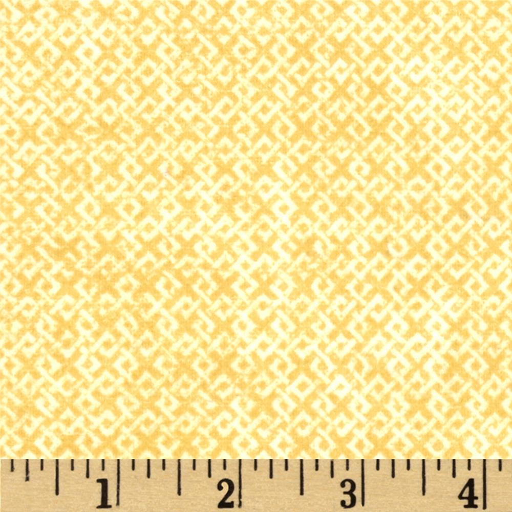 Criss Cross Flannel Ivory Fabric By The Yard